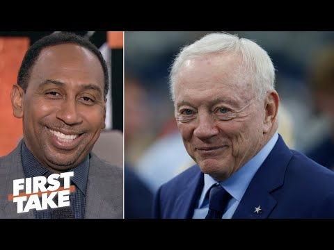 'Jerry Jones is looking smarter and smarter' for not paying Dak Prescott - Stephen A. | First Take