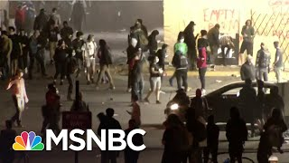 Protesters Clash With Police In Cities Nationwide Over George Floyd's Death | The 11th Hour | MSNBC