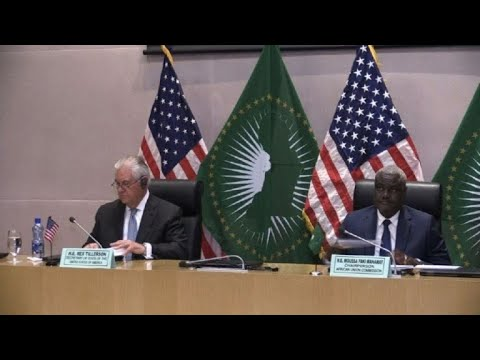 Rex Tillerson meets AU Commission Chairperson in Addis Ababa