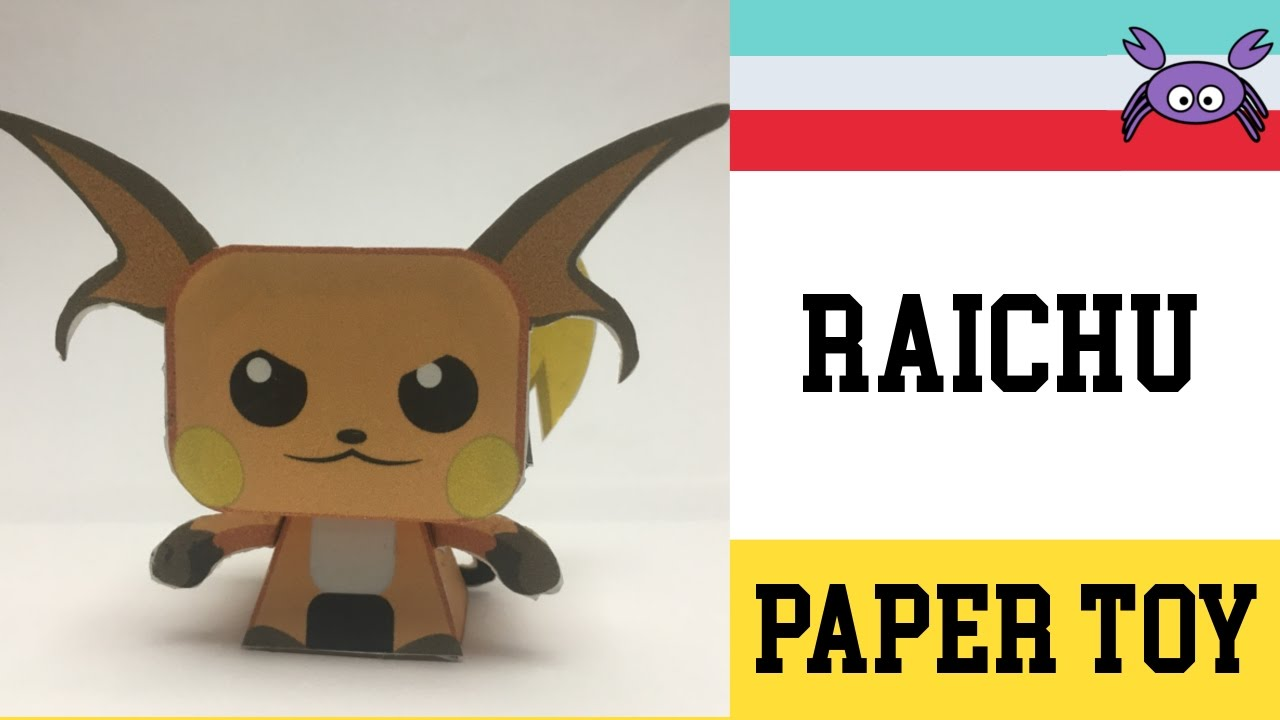 Free pokemon paper models and toys by Paperpokes