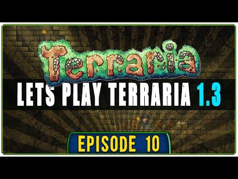 Terraria 1.3 PC Lets Play [S1E10] || Gangsta Wizard Robes!