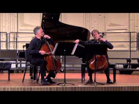 François Couperin - Concert for Two Cellos
