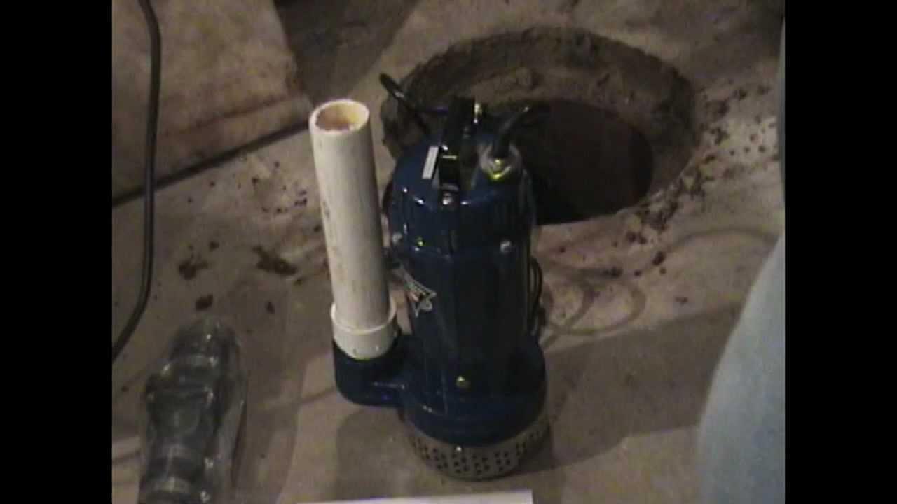 Atlantic Drain Howto Install Sump Pump Plus Check