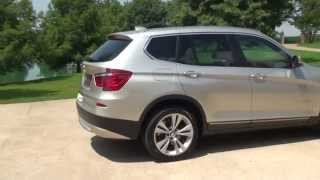 HD VIDEO 2012 BMW X3 XDRIVE 35I AWD USED FOR SALE SEE WWW SUNSETMOTORS COM