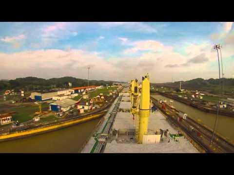 Panama Canal - M/V Desert Glory  (01/08/2015)