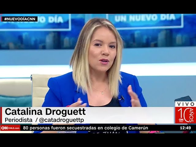 Cata Droguett CNN - Disminusión de Biodiversidad