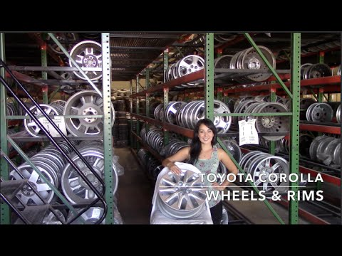 Factory Original Toyota Corolla Rims & OEM Toyota Corolla Wheels – OriginalWheel.com