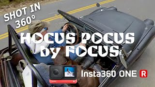 Hocus Pocus by Focus with Rye's TR3. Shot on Insta 360 ONE R.