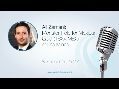Ali Zamani: Monster Hole for Mexican Gold (TSXV:MEX) at Las Minas