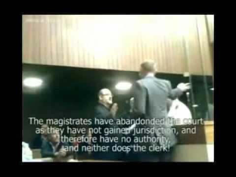 Magistrate fails to prove Jurisdiction - Freeman Dismisses case-pt1