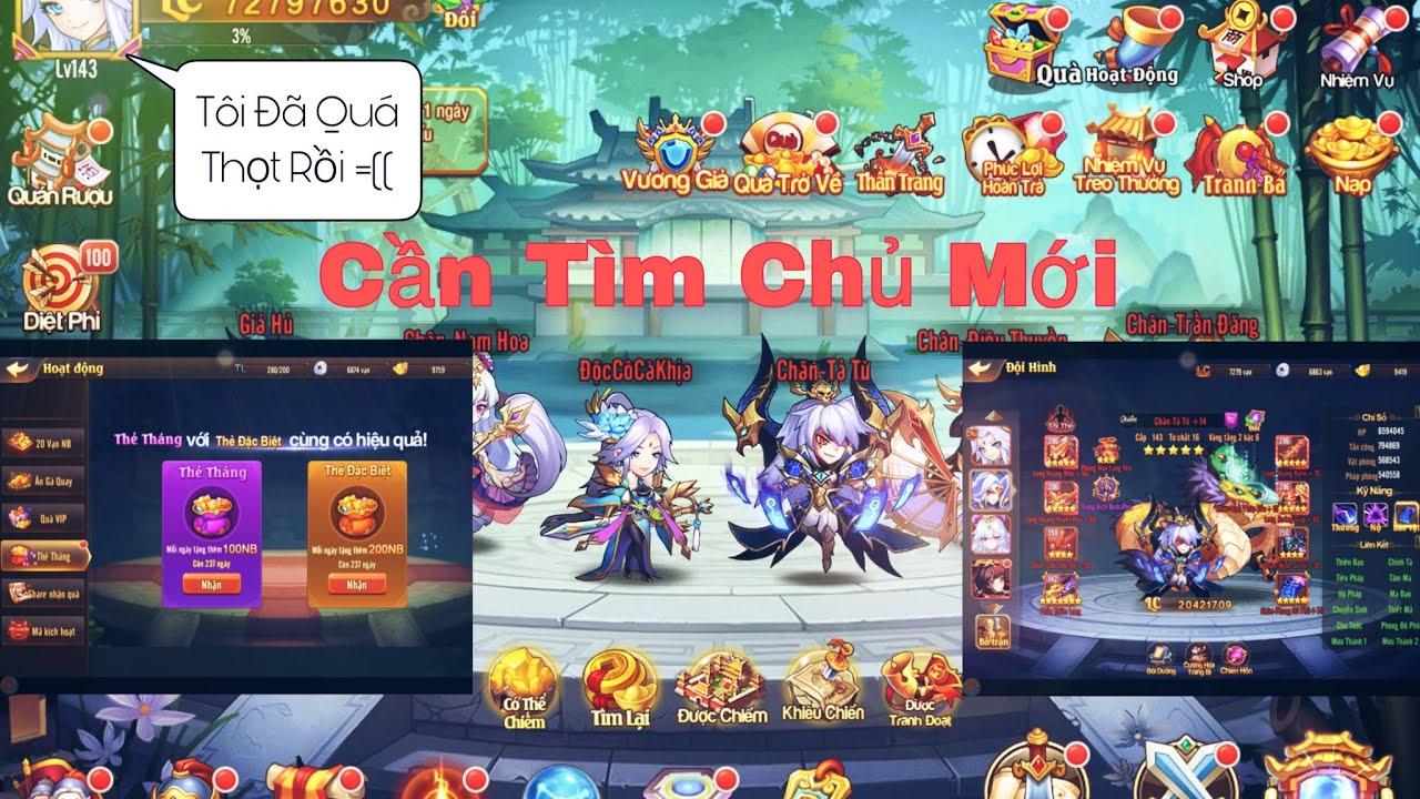 OMG 3Q   Acc Nông Dân Vip 10 Tâm Huyết Bỏ Game Cần Nhượng Lại Cho Ae Chơi