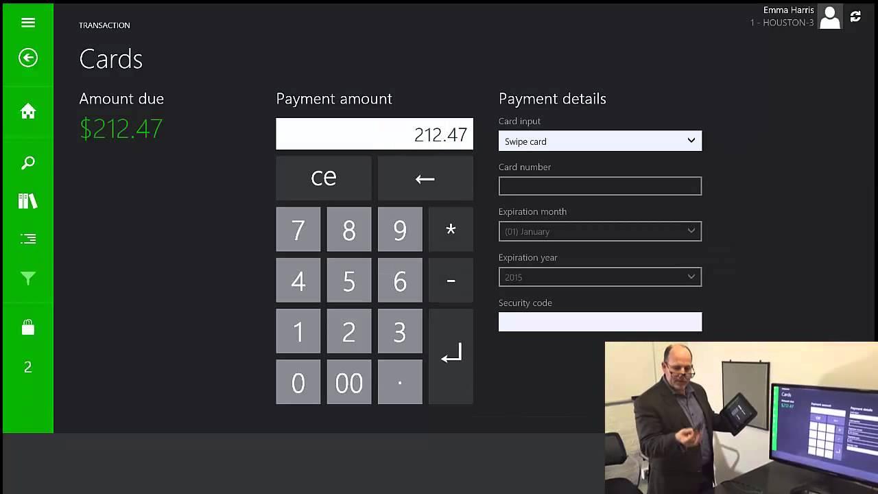 R3 2 Sign >> UXC Eclipse Microsoft Dynamics AX Retail Modern POS Demo - YouTube