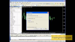 How to setup your charts for backtesting in Forex Tester 2