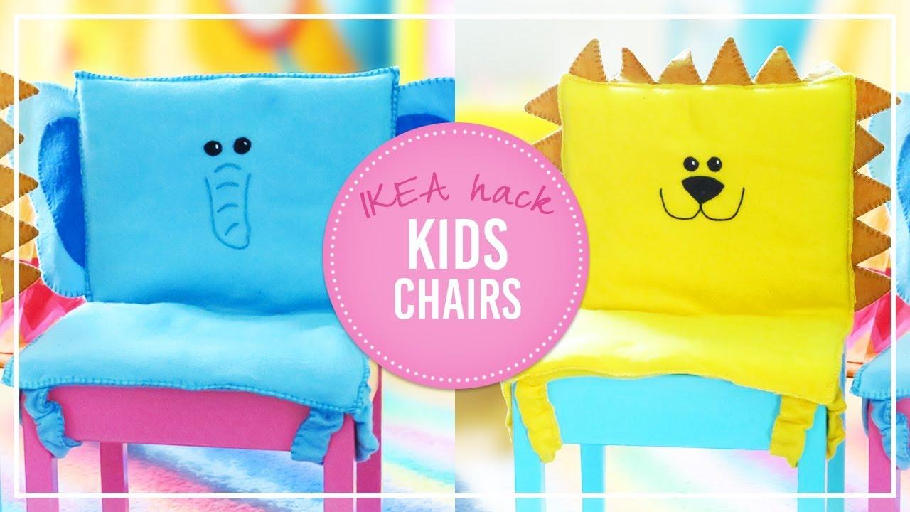 diy kids chair animal cushions ikea hack how to sew cushions