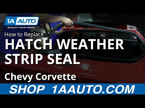 How To Install Replace Rear Hatch Weatherstrip Seal 1984