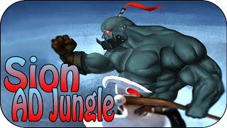 Sion jungle - Berserker AD Build - Full Gameplay