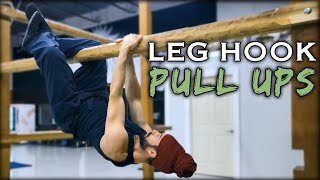 Leg Hook Pull Ups | Natural Movement Skill