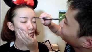 「西西」把臉交給郭老師-男友幫我化妝Tag  微博:Pinky_Sisi Thumbnail