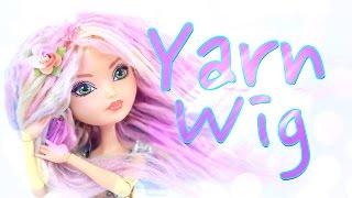 DIY - How to Make: Doll Yarn Wig - Handmade - Craft - 4K