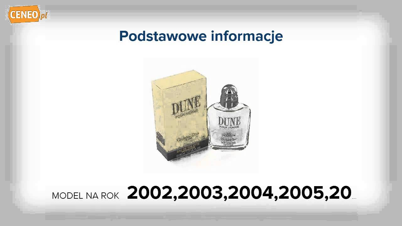 Christian Dior Dune Pour Homme 100 Ml Ceneopl Youtube For Women