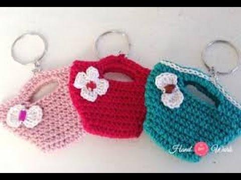 Como Hacer un LLavero Tejido al Crochet - Hogar Tv por Juan Gonzalo ...