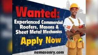 Now Hiring! | New England Masonry & Roofing Company | Naugatuck, CT
