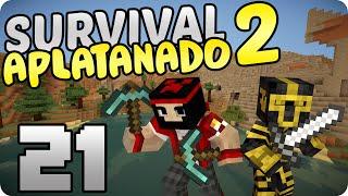 | SURVIVAL APLATANADO 2 | TERMINANDO LA FABRICA DE POCIONES #21