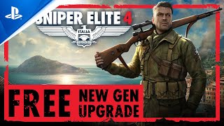 Sniper Elite 4 – FREE New Gen Upgrade   PS5