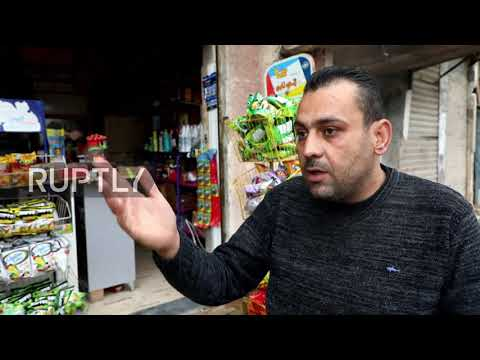 Syria: Displaced Syrians begin to return to Yarmouk camp district in Damascus