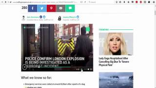 Parsons Green Fire Another false flag