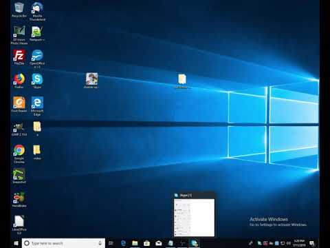 Disable Update Skype Version 8.xx