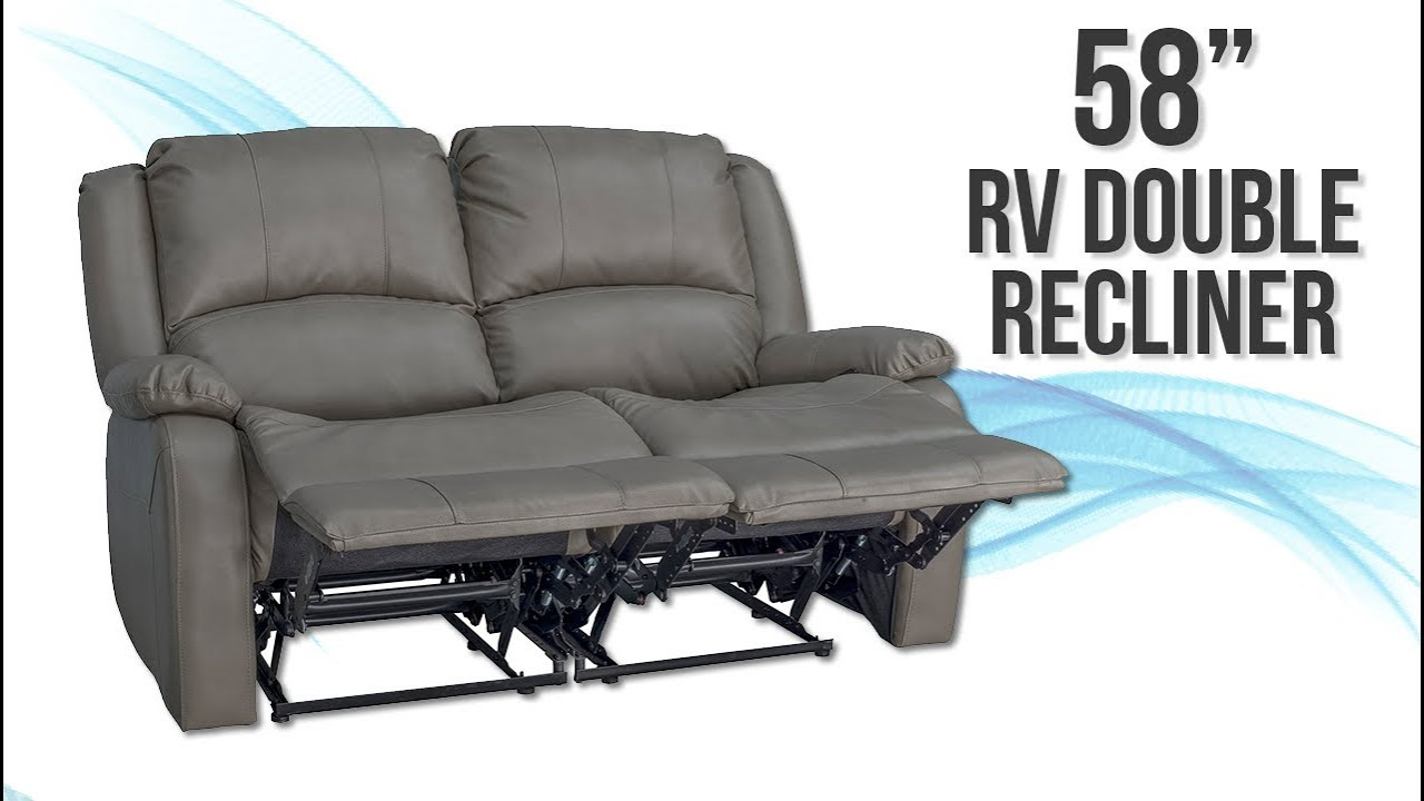58 Recpro Charles Double Rv Recliner Sofa Recpro Youtube