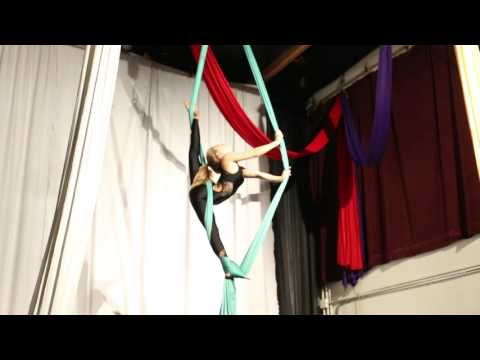 2016 West Coast Aerial Arts Festival - Teen (13 - 17) Amateur TIssu/ Silks