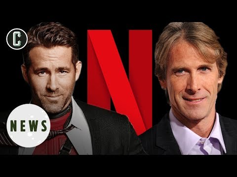 Ryan Reynolds Teaming with Michael Bay, Netflix, and Deadpool Writers for New Movie