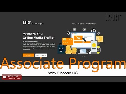 How to make money with Associate Program - Gearbest.com