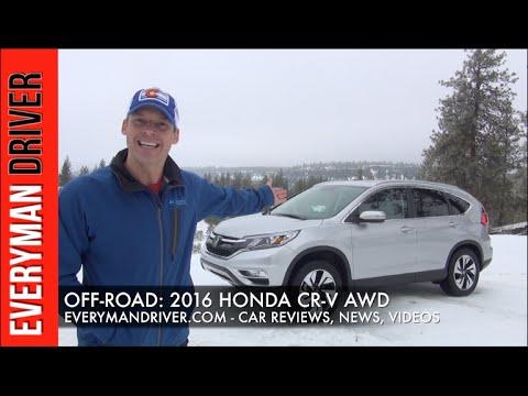 Snowy Off-Road: 2016 Honda CR-V AWD on Everyman Driver