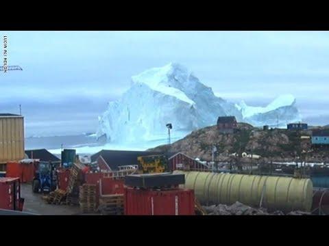 جبل جليدي ضخم يهدد بلدة بأكملها  - نشر قبل 3 ساعة