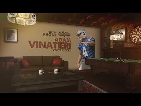 Colts Kicker Adam Vinatieri on The Dan Patrick Show | Full Interview | 8/16/17