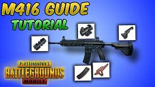 M416 Guide/Tutorial (PUBG MOBILE) TIPS AND TRICKS