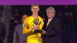 Congratulations to U.S. Soccer's Brady Scott on winning the #CU20 Golden Glove Award!
