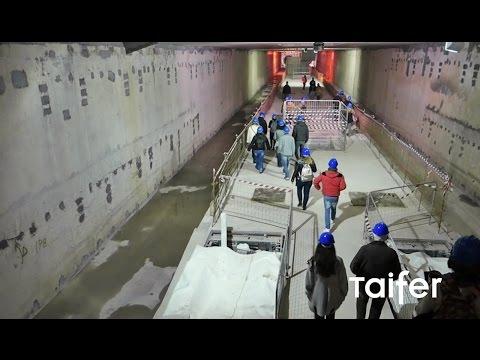 Ξενάγηση στον πρώτο σταθμό του Μετρό Θεσσαλονίκης - Thessaloniki Underground Railway