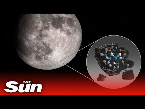 NASA announce water on the Moon's surface discovery