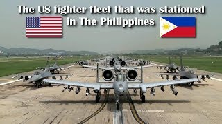 This is the US fighter fleet that was stationed in the Philippines, Rebuild the old glory