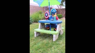 This video is not available. Step2 Sit & Play Picnic Table with Umbrella