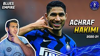 Reacting To Achraf Hakimi || Chelsea Fan Reacts 😱