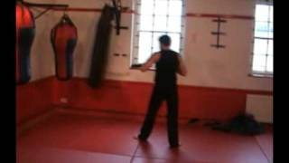 Iranian Rocky King Kick Boxer
