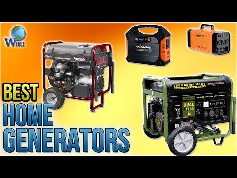 10 Best Home Generators 2018 thumbnail