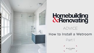 HOW TO INSTALL A WETROOM - PART 1 - PREPARING THE ROOM