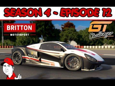 Motorsport Manager - GT Challenger Series - Britton Motorsport - S4 E12