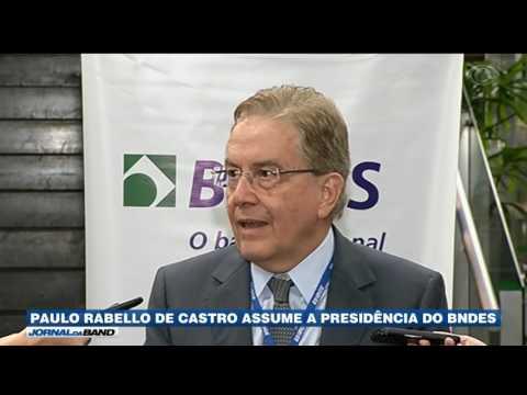Paulo Rabello assume a presidência do BNDES